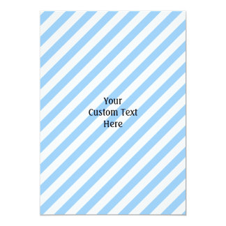Blue and White Stripes. Card