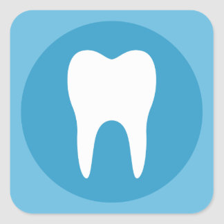 Tooth Logo tooth logo stickers zazzle