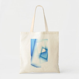 Blue and White Tote Bag for Sherry