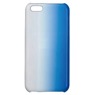 Blue and White Tye Dye Case For iPhone 5C