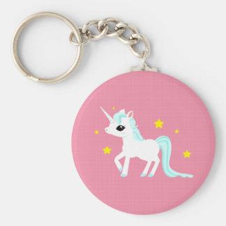 Blue and white Unicorn stars Key Chains