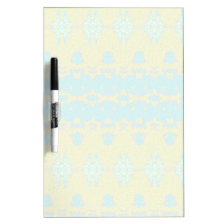 Blue and yellow abstract pattern Dry-Erase board
