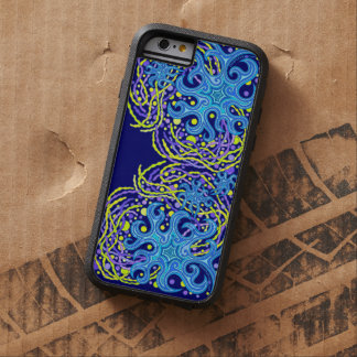 Blue And Yellow Astrum Vita Abstract Art Tough Xtreme iPhone 6 Case