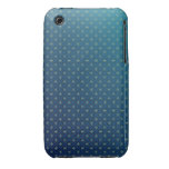 Blue and Yellow Blossoms Floral Pattern iPhone 3 Case-Mate Cases