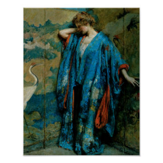 Blue and Yellow by Robert Reid Poster