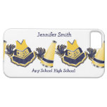 Blue and Yellow Cheerleading iPhone Case iPhone 5 Cases