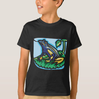 Blue and Yellow Frog T-Shirt