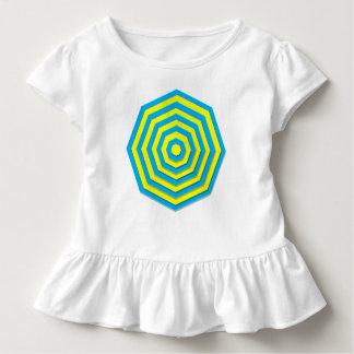 Blue and Yellow Hexagon Toddler T-shirt