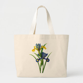 Blue and Yellow Iris By Redoute Tote Bags