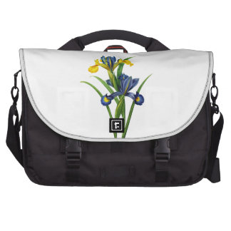 Blue and Yellow Iris By Redoute Bag For Laptop