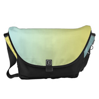 Blue And Yellow Large Messenger Bag