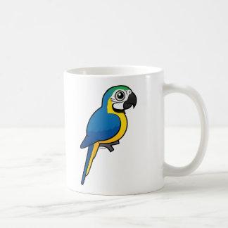 Blue-and-yellow Macaw Coffee Mug