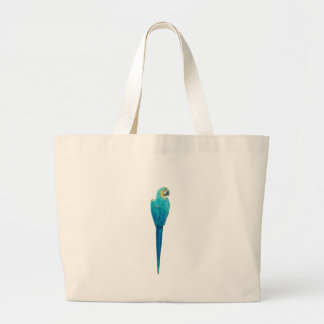 Blue and Yellow Macaw from Junglewalk.com Large Tote Bag