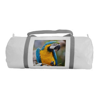 Blue and Yellow Macaw Gym Bag
