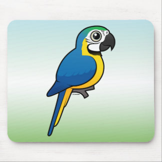 Blue-and-yellow Macaw Mouse Pad