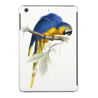 Blue and Yellow Macaw Vintage iPad Mini Covers