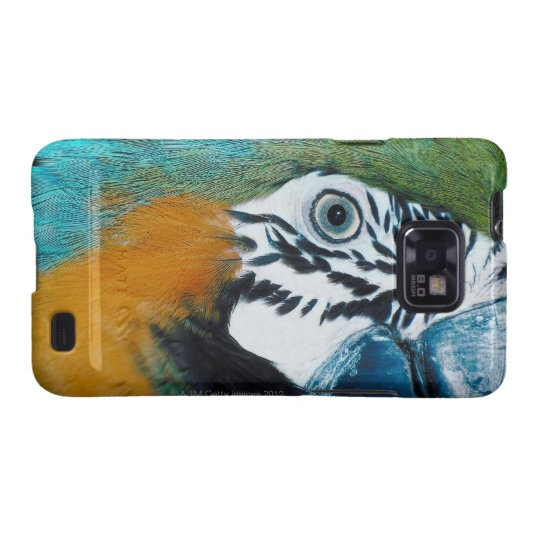 Blue-and-yellow MacawÊ Galaxy SII Case