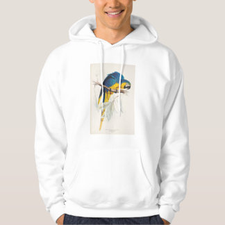 Blue and Yellow Maccaw Hoodie