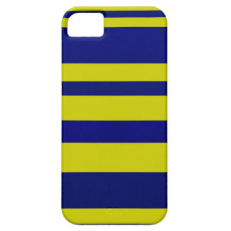 Blue and Yellow Stripes iPhone 5 Case