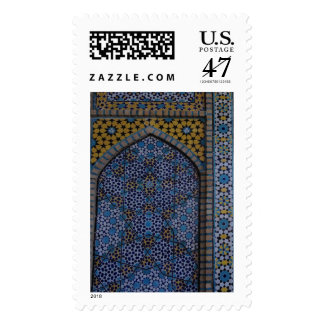Blue and Yellow Tile Stamps