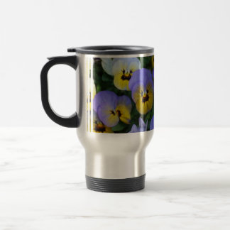 Blue and Yellow Violas Coffee Mug