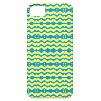 Blue and yellow Zigzag design Case