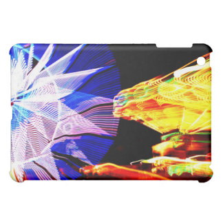 BLue and Yellow Zoomed Fair Rides Case For The iPad Mini