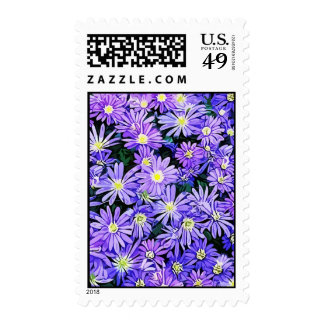 Blue Anemone Flower Field (2013) Postage Stamps