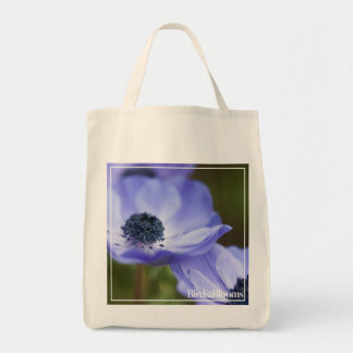 Blue Anemone Tote Bag