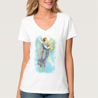 Blue Angel And Harp T-Shirt
