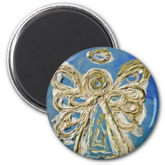Blue Angel Art Custom Magnet Gifts