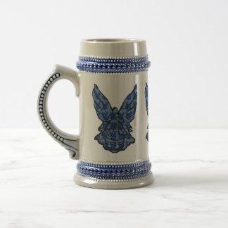 Blue Angel Art Large Decorated Mug