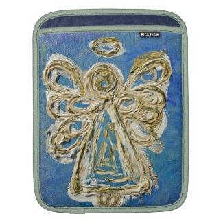 Blue Angel Art Painting iPad Computer Sleeves