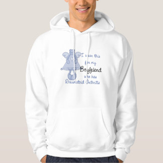 Blue Angel Bear : I wear for Boyfriend RA Design Hooded Pullover