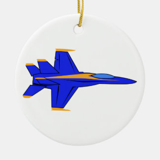 Blue Angel Ceramic Ornament