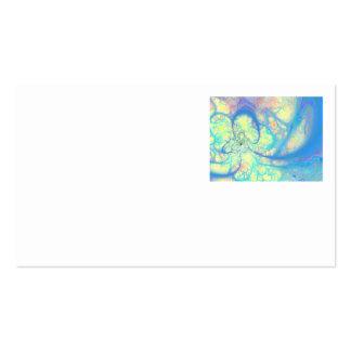 Blue Angel – Cosmic Azure & Lemon Business Card