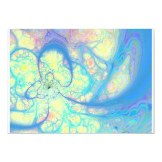 Blue Angel – Cosmic Azure & Lemon Card