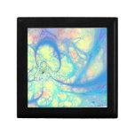 Blue Angel – Cosmic Azure & Lemon Keepsake Box