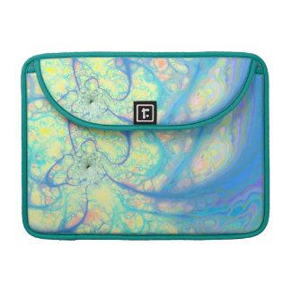 Blue Angel – Cosmic Azure & Lemon MacBook Pro Sleeve