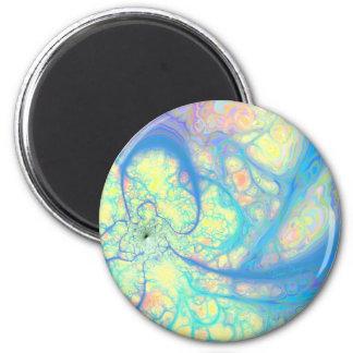 Blue Angel – Cosmic Azure & Lemon Magnet