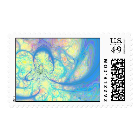 Blue Angel – Cosmic Azure & Lemon Postage
