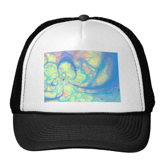 Blue Angel – Cosmic Azure & Lemon Trucker Hat