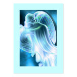 Blue Angel Daily Prayer Card Large Business Card