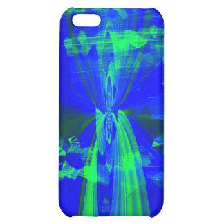 """blue angel"" iphoneskins artist:rene avalos cover for iPhone 5C"
