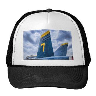Blue Angel Luky #7 Trucker Hat