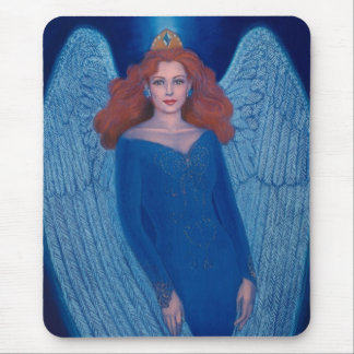 Blue Angel Mouse Pad