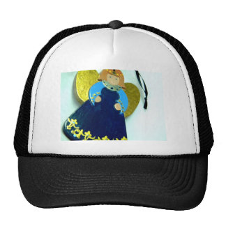 Blue Angel Ornament I Trucker Hat
