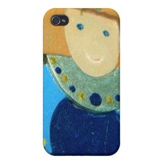 Blue Angel Ornament II iPhone 4/4S Covers