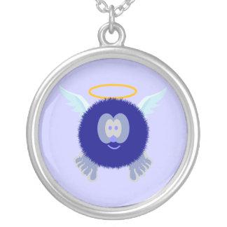 Blue Angel Pom Pom Pal Necklace