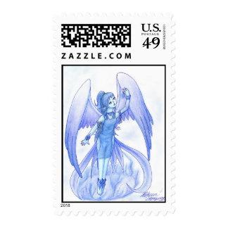 Blue angel~ postage